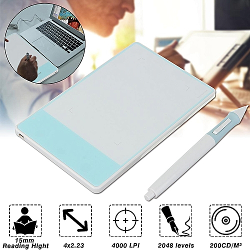 White 420-w Stylus Digital Drawing Pen Graphics Tablet Signature Pad Huion  680S 420 H420