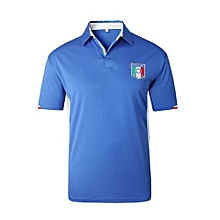 Italy National Team Jersey T-shirt  For Men (White)