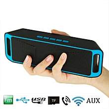 Portable Bluetooth Speaker Wireless Stereo with Enhanced Bass Built-In Dual Driver Speakerphone Handsfree Call