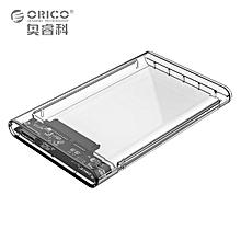 ORICO 2139U3 2.5 inch Transparent USB3.0 HDD Case Hard Drive Enclosure  PDmall