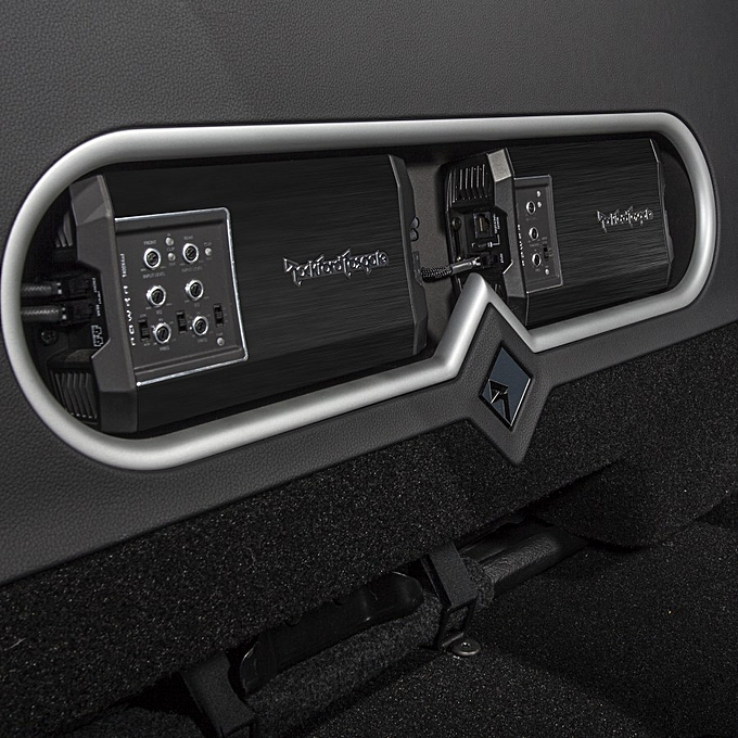 Rockford Fosgate Power T400X4ad Compact 4-channel car amplifier — 100 watts  RMS x 4