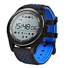"""F3 - 1.1"""" Smartwatch For Android/IOS Waterproof Pedometer 240mAh - Blue+Black"""