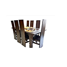 Hand Crafted Wooden Dining Table and Chairs