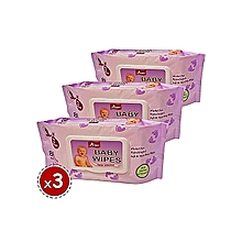Baby Wipes 80PCS Value Pack (x3)