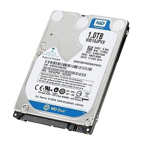Western Digital 1TB Laptop Hard Disk Drive - Internal Hard Disk Drive