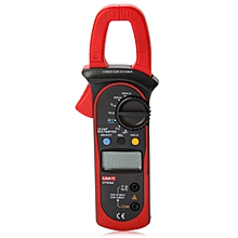 UT204A LCD Digital Clamp Multimeter Auto / Manual Range Handhold Test Device - Red