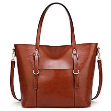 Solid Color Tote Ladies Bag Shoulder Bag Designer Hangbag