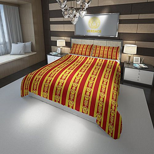 100% Polyester Cotton Brand Bedding Sets Duvet Cover Pillowcases Single  Double Size