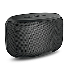 NR - 4015 Wireless Bluetooth Stereo Speaker Subwoofer Mini Player -BLACK