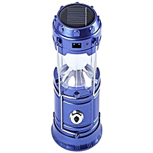 Rechargeable Solar Lantern & Torch - Blue