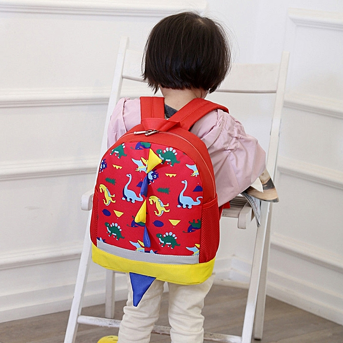 ... Baby Boys Girls Kids Dinosaur Pattern Animals Backpack Toddler School  Bag ... 9011e0b9a357c