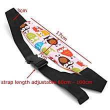 Baby Car Seat Sleep Head Support Children Travel Safety Adjustable Strap Belt Pink Olw Birds