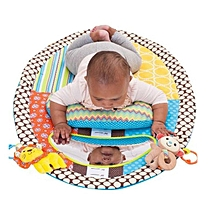 Infant Baby Tummy Time Musical Mat With Mirror Water Resistant Baby Play Blanket Carpet Rugs Infant Bed Kids Developmental Toy