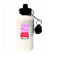 Peppa pig branded cartoon water bottle -  minimum order is 1 bottle