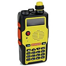 Baofeng E500S 5W Dual Band 136-174MHz & 400-520MHz Two Ways Walkie Talkie Radio (Yellow) - 2 Units