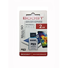 Memory card 2GB-BOOST