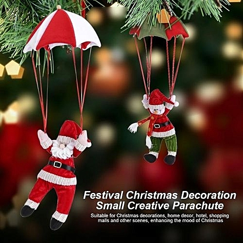 lovely festival christmas decoration small creative hanging ornament red white santa claus