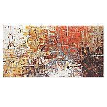 GUDI- Abstract Large Hand Drawing Modern Painting Home Decor Canvas Art Wall # 50*100cm