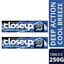 BOGOF Cool Breeze ToothPaste - 125g.