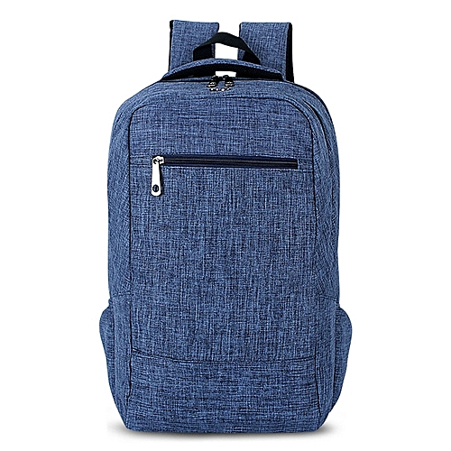 Universal Multi-Function Canvas Cloth Laptop Computer Shoulders Bag  Business Backpack Students Bag 6a799e06aa