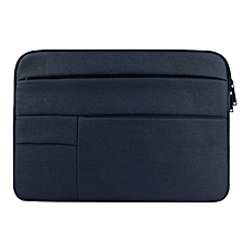 Universal Multiple Pockets Wearable Oxford Cloth Soft Portable Leisurely Laptop Tablet Bag, For 12 inch and Belowbook, Samsung, Lenovo, Sony, DELL Alienware, CHUWI, ASUS, HP (navy)