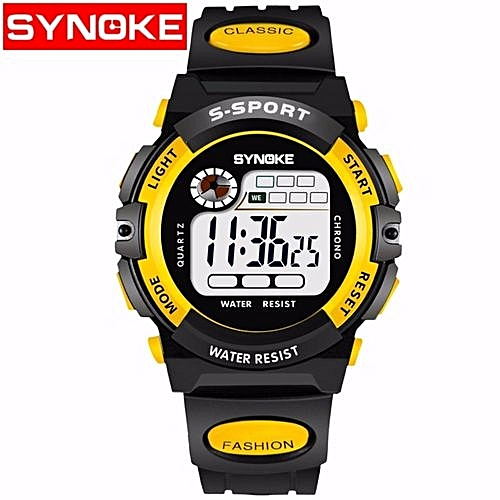 2219e526032 Synoke Hot Sale Top Fashion Sport Student Children's Watch Boys Girls Clock  New Child LED Digital Kids Watches For Boy Girl Gift SYNOKE 99269