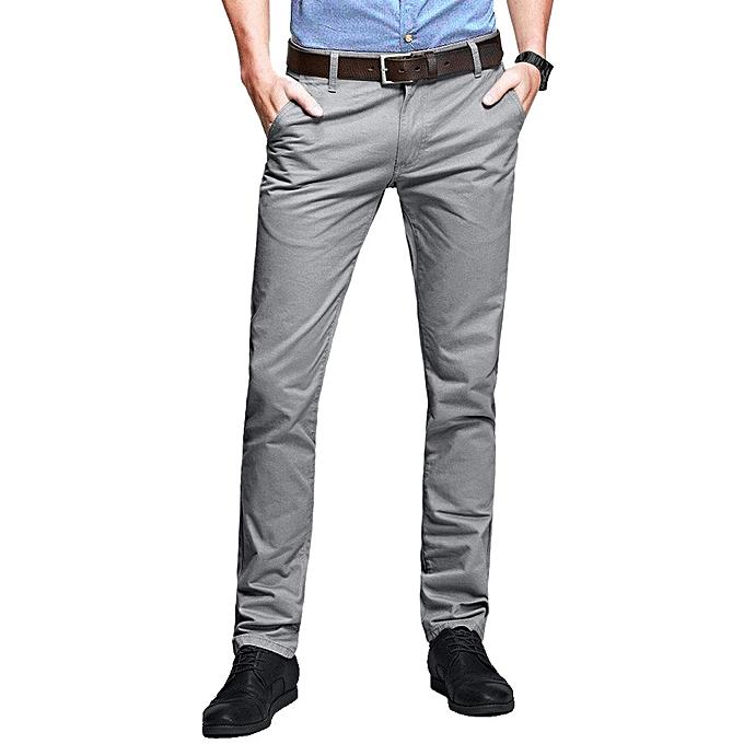 Generic Men S Khaki Trousers 8 Pack Of Blue Khaki Brown Dark