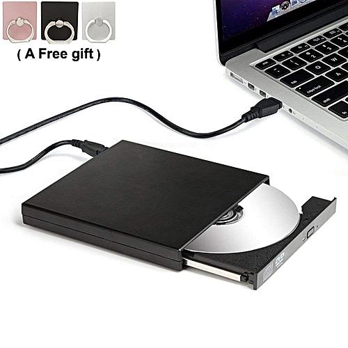 External DVD Drive USB 2.0 CD-RW ROM Combine Drive-Black color