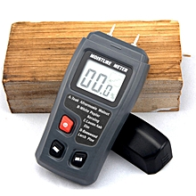 BSIDE EMT01 Digital LCD Portable 0~99.9% Wood Moisture Meter Integral Pins Auto Power off