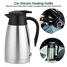 12V 1000ml Stainless Steel Car Automobile Electric Heating Kettle Portable Water Cup