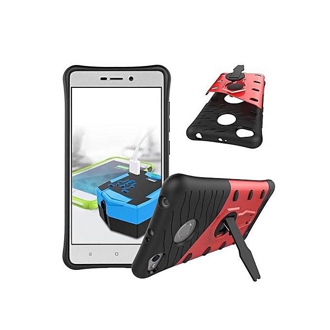 Mooncase Case For Xiaomi Redmi 3 / 3S/ 3 Pro Rotate Kickstand Hybrid Shock-