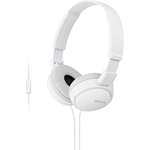 MDR-ZX110AP - Extra Bass Headphones - White