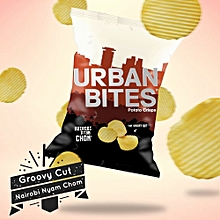 The Groovy cut Potato crisps 120 Grams