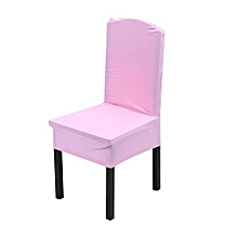 Elastic Chair Covers Home Seat Slipcover Decoration #Light Pink