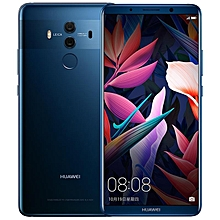 Huawei Mate 10 Pro BLA-AL00, 6GB+64GB, Dual Back Cameras, Fingerprint Identification, 6.0 inch EMUI 8.0 (Android 8.0) Hisilicon Kirin 970 Octa Core + i7 up to 2.36GHz, Network: 4G, OTG, NFC(Blue)