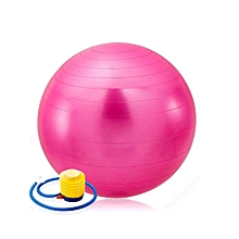 Anti-burst Yoga Ball, Extra Big 75cm Stability Ball, Anti-Burst Balance Exercise Ball with Foot Pump for Body Core Abs Workout,Balance Balls Exercise - Pink