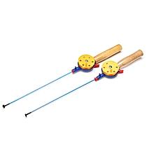 43.5CM Ultralight Winter Fishing Rod Reel Combo Ice Fishing Rod With Fishing Reel