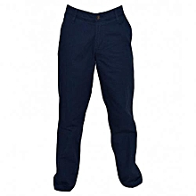 Navy Men's Casual Pants