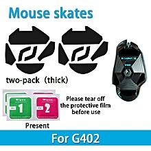 2 sets Teflon 0.6mm 3M Mouse Feet mouse Skates for Logitech G402 gaming Mouse
