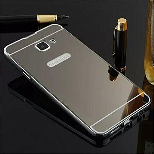 huge selection of 37b4c f7c6d Elaike For Samsung J7 Prime 2 In 1 Luxury Aluminum Metal Mirror PC Phone  Cover Case (Color:c3)