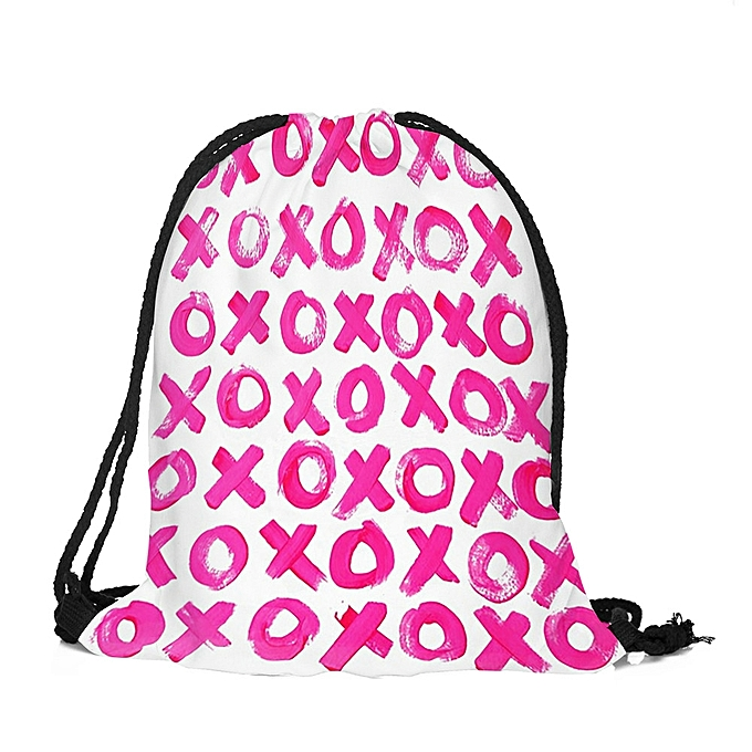 Fovibery Valentine s Day Drawstring Bag Sack Sport M Travel Outdoor Backpack  Bags 4e2f29b74e