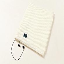 Wireless Bluetooth Headphone Scarf  Winter Outdooors Music Wireless Warm Scarf Neckerchief With Mic