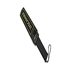 ZKD100S - Hand Held Metal Detector- Black