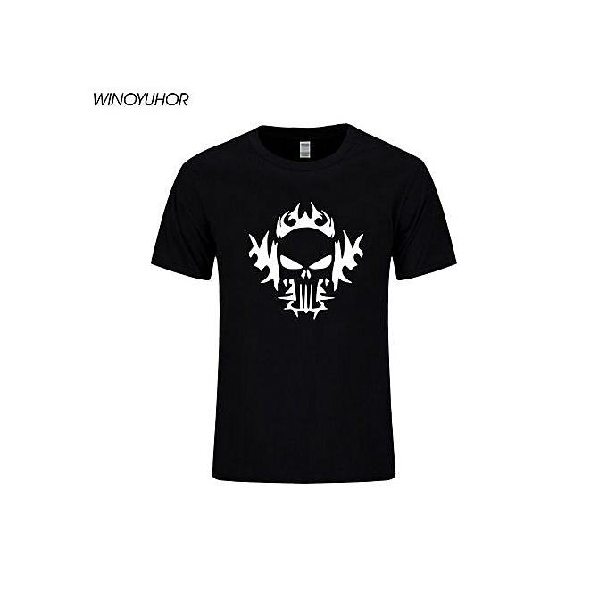 Men's Fashion T-shirt American Sniper Chris Kyle Men T Shirt Punisher Skull  Navy Seal Team Legend Printed Fashion Tops Tee Summer Casual T-shirt