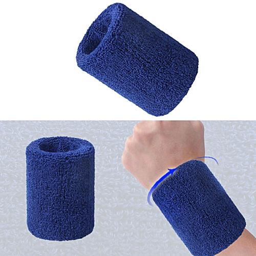 MUYI Cotton Wristbands Wrist Band Bands Sweatbands Sweat Band for Sport  Tennis b4893fc5db4