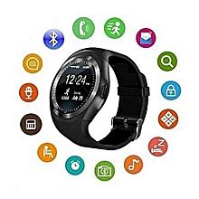 Y1 Smart Watchs Round Support Nano SIM &TF Card  Smartwatch