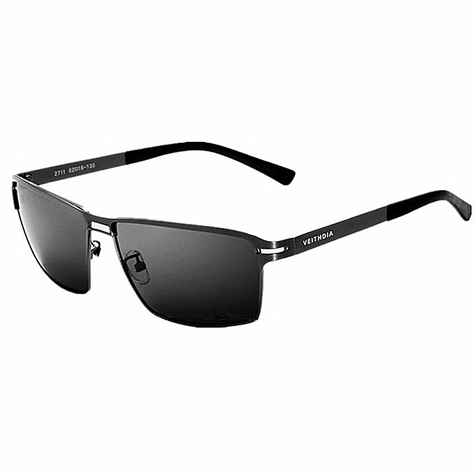 625f51446b1a Men Ultra-thin Stainless Steel Polarized Sunglasses Square Full Frame Lens Eyewear  Accessories Sun Glasses
