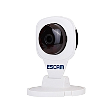 ESCAM Diamond QF506 WiFi H.264 1.0MP P2P IP Camera Cloud Technology Support Android IOS for Home Company WHITE UK PLUG