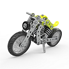 MoFun 3D Metal Puzzle Model Building Stainless Steel Harley Motorcycle 158PCS-