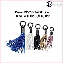 Remax RC-053i Tassels Ring Data Cable For Apple USB DIOKKC